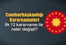 Cumhurbaşkanlığı Kararnamesi (CBK) nedir? Yetkileri neler?