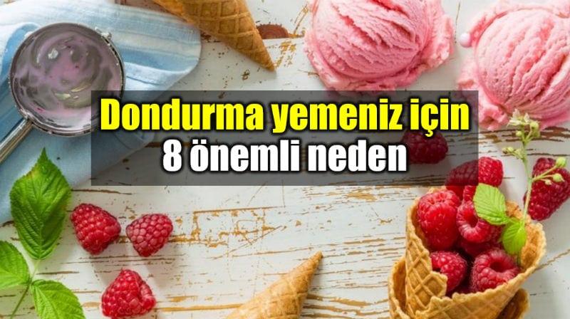 Dondurma yemeniz için 8 önemli neden: Dondurmanın faydaları