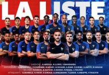 2018 dünya kupası şampiyonu olan Fransa futboludur