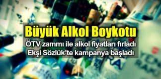öTV zammı ile alkol fiyatları fırladı: Ekşi Sözlük Büyük Alkol Boykotu başlatıldı