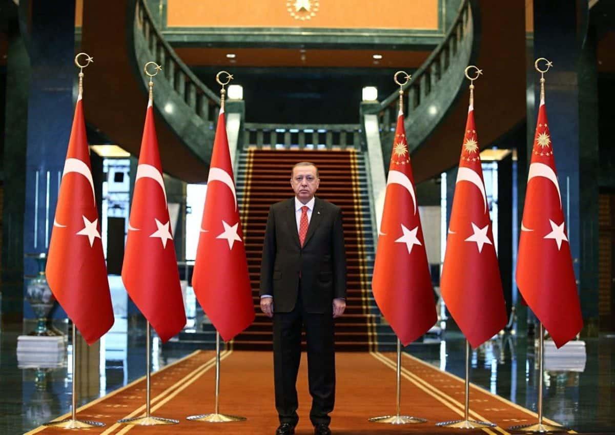 erdoğan yemin töreni