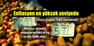 Haziran ayı enflasyon rakamları: Memur ve emekli maaşı zam oranları