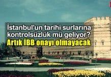 istanbul Zeytinburnu tarihi sur bölgesine kontrolsüzlük mü geliyor? ibb