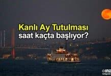 Kanlı Ay Tutulması Türkiye saat kaçta başlıyor?