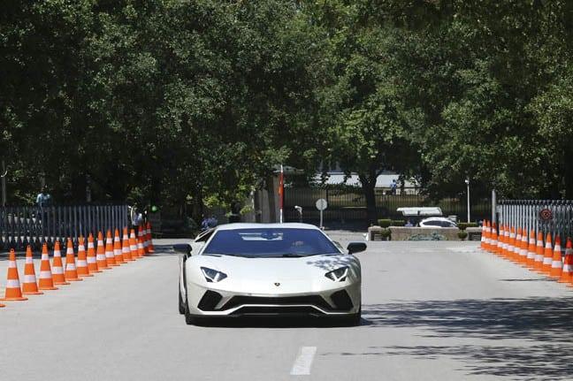 Lamborghini Aventador S marka ara