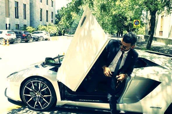 kenan sofuoğlu Lamborghini Aventador S