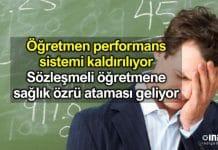 Ziya Selçuk: Öğretmen performans sistemi uygulanmayacak sözleşmeli öğretmen