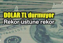 ABD Türkiye yaptırım krizi: Dolar TL yükselmeye devam ediyor