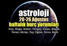 Astroloji: 20 - 26 Ağustos 2018 haftalık burç yorumları