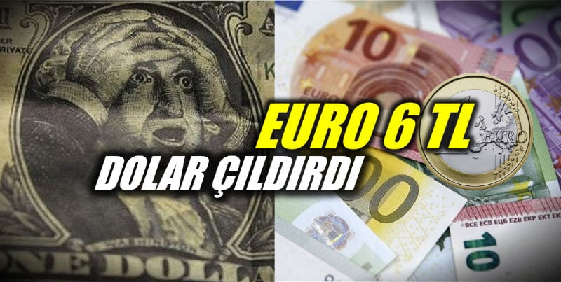Dolar TL ve Euro TL kurlarında yeni rekorlar