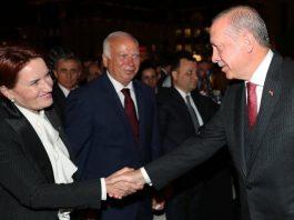 İyi Parti lideri Meral Akşener ilk kez Beştepe protokolde yer aldı