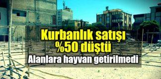 Kurbanlık satışı yüzde 50 düştü: Satış alanları boş!