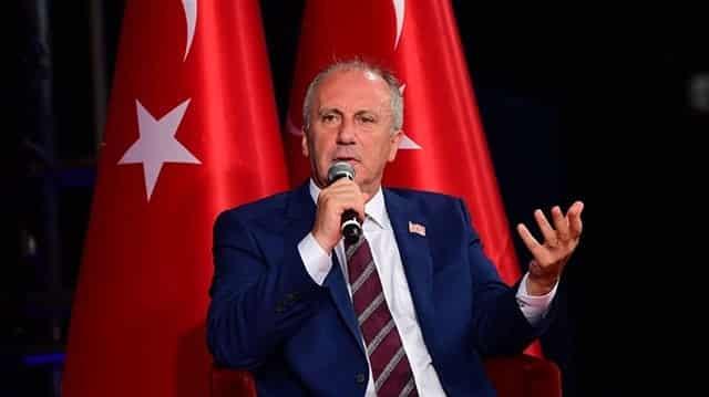 Muharrem İnce, 'ekonomik felaket' dedi, Cumhurbaşkanı Erdoğan'a çağrıda bulundu