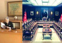 Of Kaymakamı makam odası Japon İmparatoru ile kıyaslandı