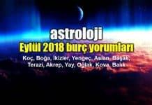 Astroloji: Eylül 2018 aylık burç yorumları
