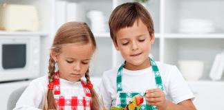Çocuklar için bir günlük beslenme programı