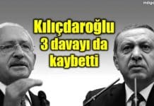 Kılıçdaroğlu, Erdoğan açtığı 3 davayı kaybetti: 909 bin TL ödedi