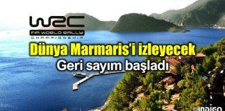 Marmaris WRC Dünya Ralli Şampiyonası düzenlenecek