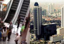 Metrocity AVM yürüyen merdivenlerine haciz şoku!