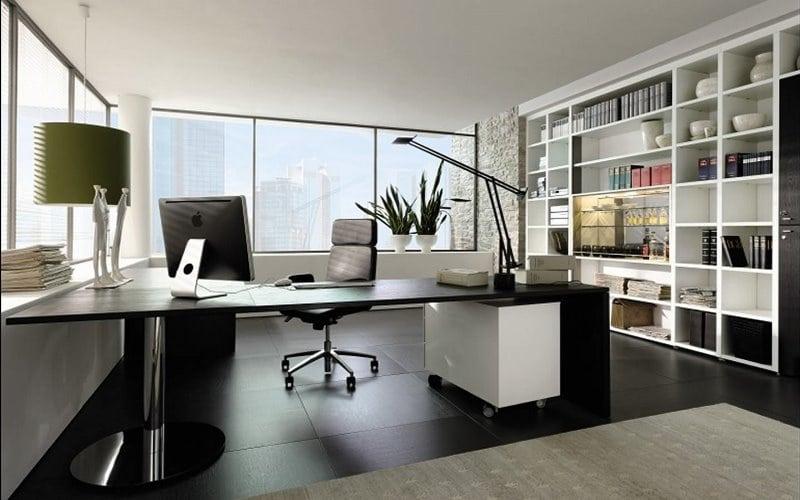 art deco modern ofis tasarımı feng shui minimalist