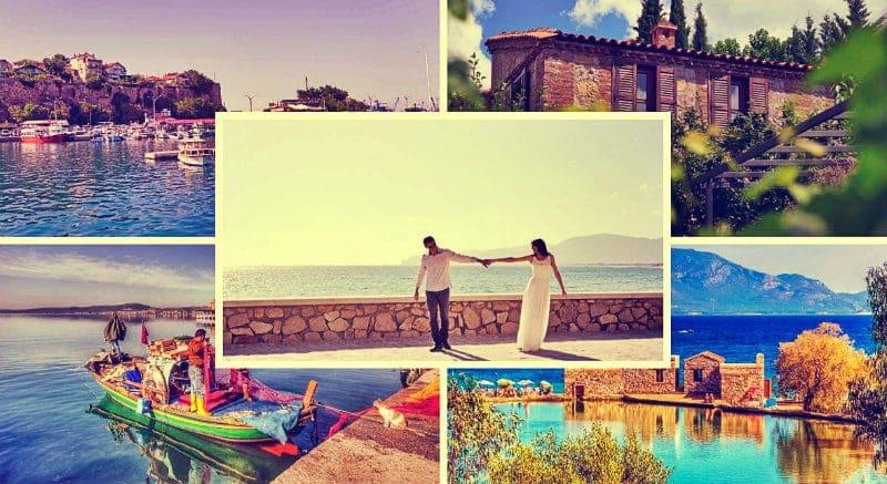 Türkiye romantik bir balayı tatili için en ideal yerler