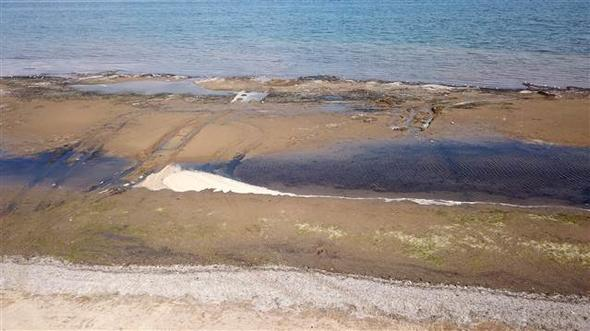 yalova çiftlikköy deniz 25 metre çekildi deprem habercisi mi