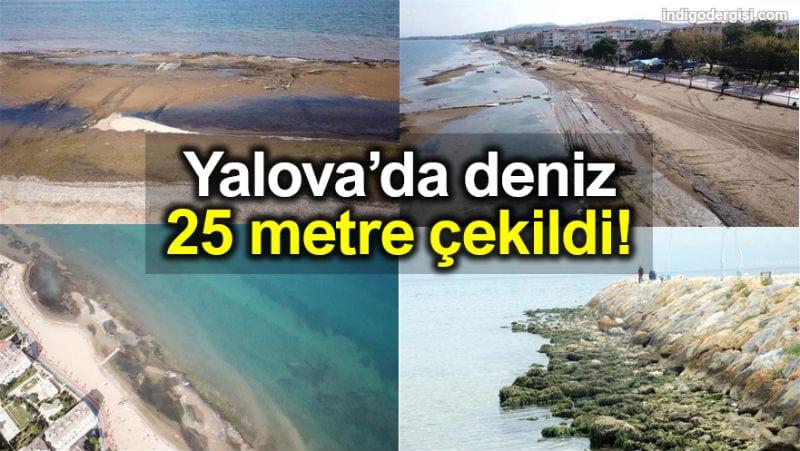 Yalova deniz 25 metre çekildi: Deprem profesöründen açıklama!