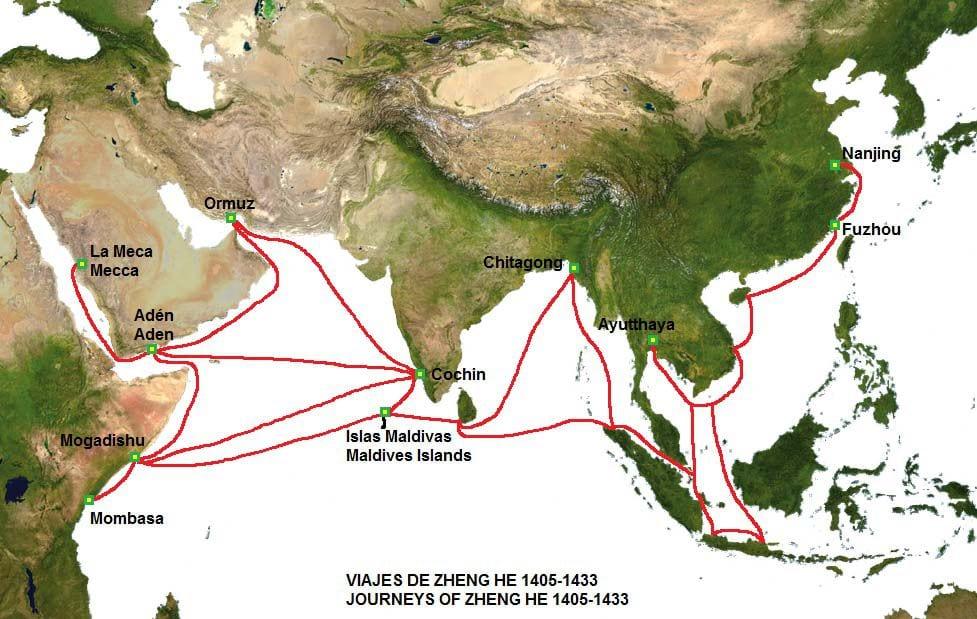 1421 Çin'in Dünyayı Keşfettiği Yıl zheng he