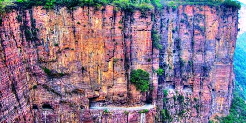 Guolian Tüneli Yolu, Çin