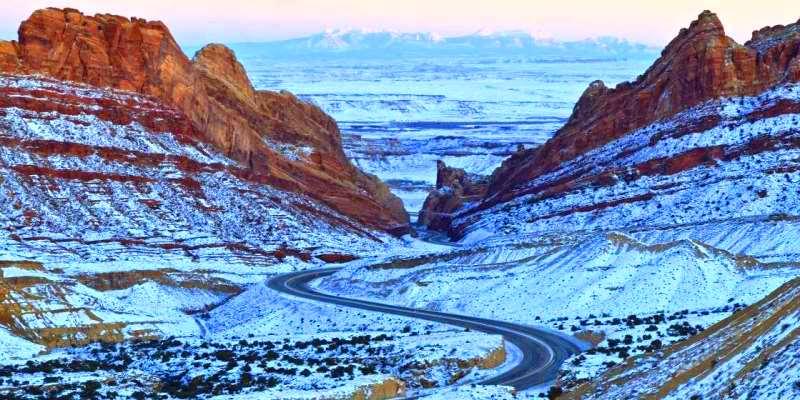 Interstate 70, Utah, ABD