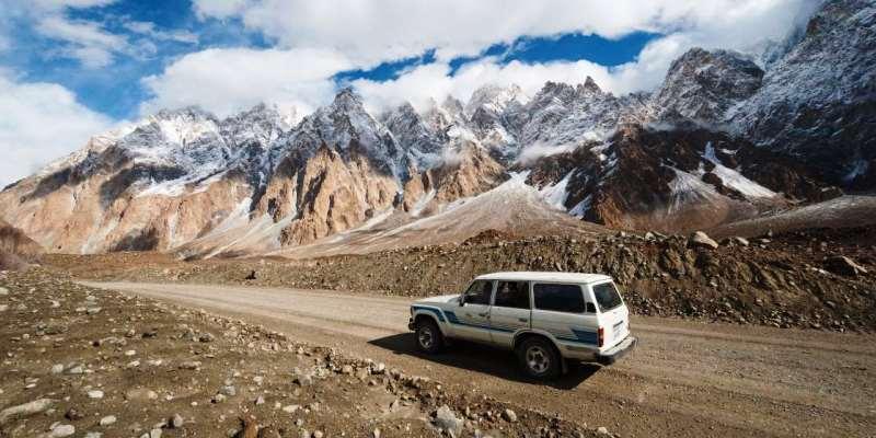 Karakurum Karayolu, Pakistan ve Çin