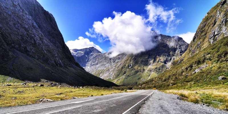 Milford Yolu, Yeni Zelanda