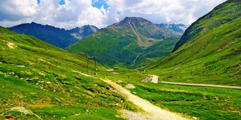 Oberalp Geçidi, İsviçre