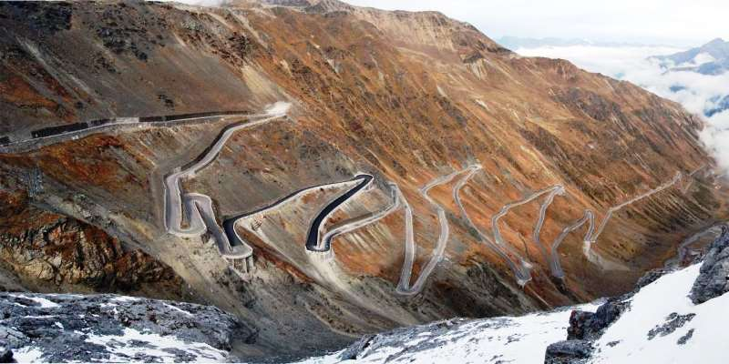 Stelvio Pass, Italya italy