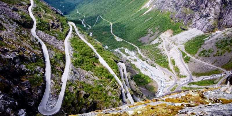 Trollstigen Yolu, Norveç