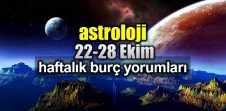 Astroloji: 22 - 28 Ekim 2018 haftalık burç yorumları