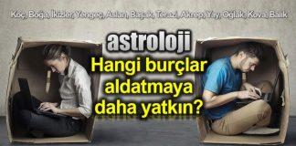 Astroloji: Hangi burçlar aldatmaya daha çok yatkın?