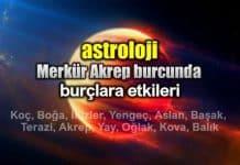 Astroloji: Merkür Akrep burcunda (10 - 31 Ekim) burç yorumları