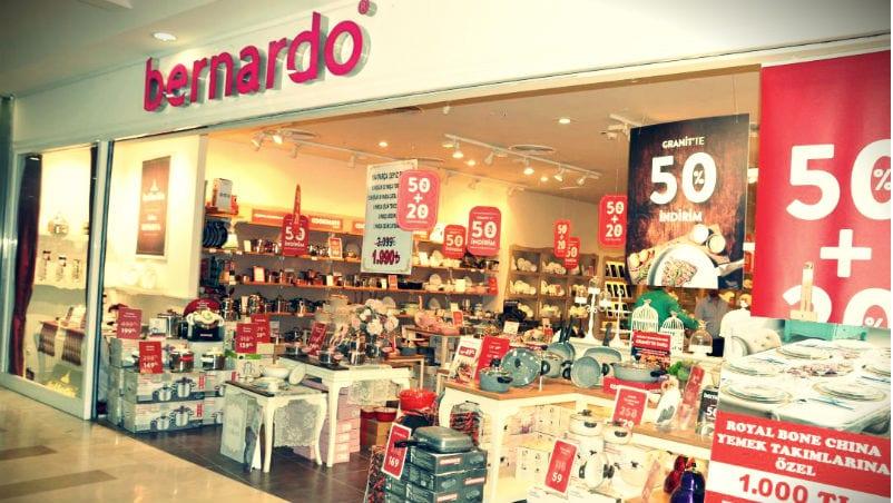 Bernardo konkordato ilan etti: Züccaciye devi şirketin 122 mağazası var