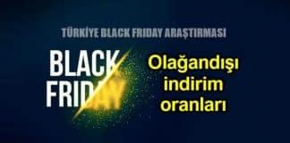 Black Friday (Kara Cuma) araştırması: Olağandışı indirim oranları