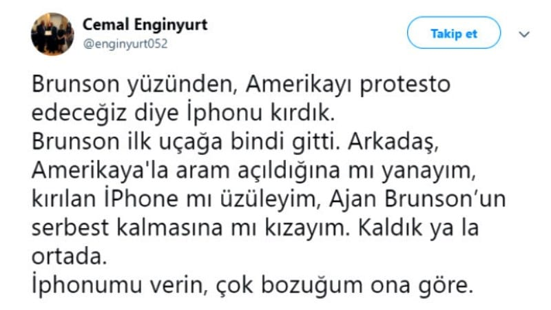 iPhone parçalayan MHP milletvekili Cemal Enginyurt: Kaldık ya la ortada!
