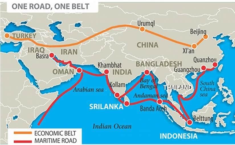 Bir Kuşak, Bir Yol, (One Belt One Road-OBOR) Projesi ipek yolu ticaret