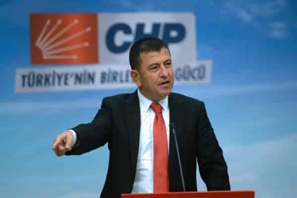 CHP Genel Başkan Yardımcısı Veli Ağbaba (Fotoğraf: Ziya Köseoğlu)