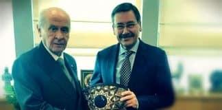 Devlet Bahçeli Melih Gökçek ankara adaylığı MHP şeref kazandırır