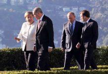 Dörtlü Suriye zirvesinden ortak bildiri rusya almanya türkiye fransa erdoğan putin macron merkel