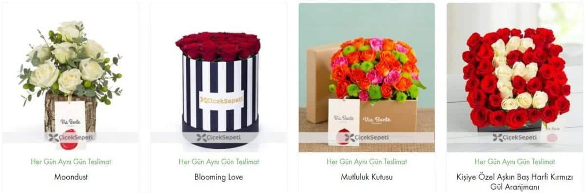 en yakın çiçekçi çiçek sepeti hediye