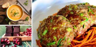 Lahana çorbası, pırasalı köfte ve narlı çikolata tarifi