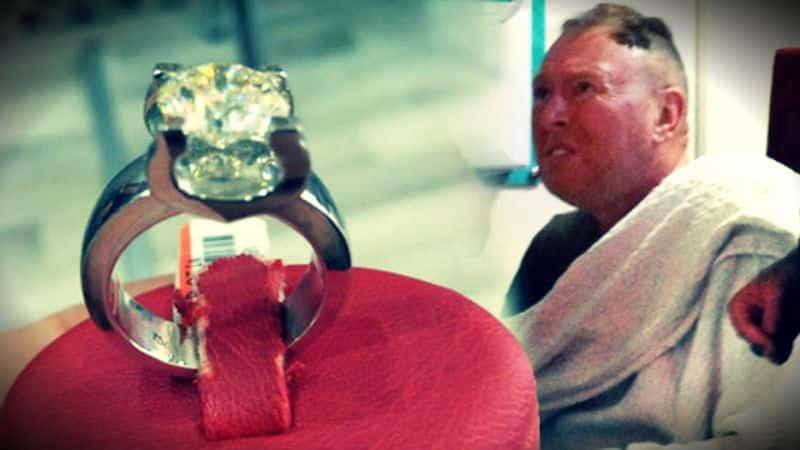 Marmaris bir kuyumcuda 40 bin dolarlık pırlanta yüzük yutan turist hastanede