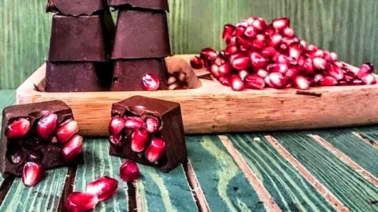 Narlı Çikolata tarifi hazırlanışı