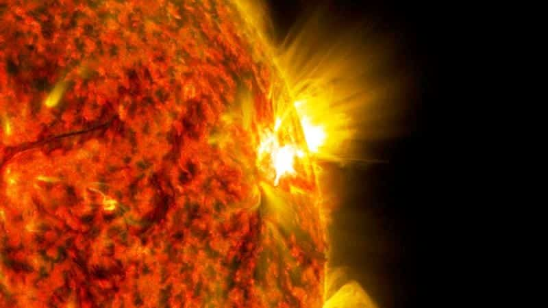 termosfer güneş lekeleri